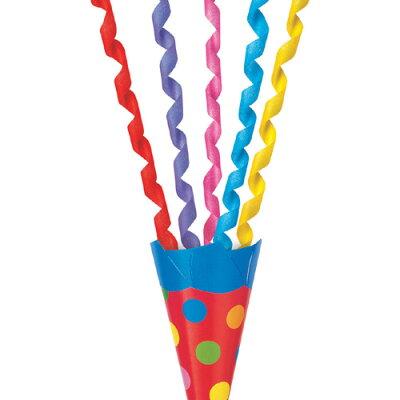 散らからないクラッカー(5個入)[カネコパーティークラッカークリスマスパーティーイベント忘年会二次会結婚式クリスマスクラッカー]【_101422】u89