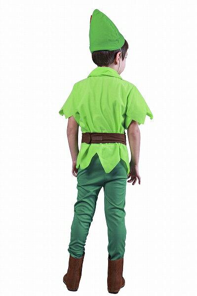 ファンタジーボーイ(子供用:100cm)【(男の子用)ピーターパン衣装】[ハロウィン衣装、ハロウィーン、コスチューム、仮装、子供、男の子]【826422】