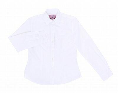【TeensEver】シャツ白(Lサイズ)女子高生シャツブラウス白コスプレ制服ティーンズエバー