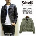 【春モデル】ショット ナイロンダブルライダース(Schott NYLON DOUBLE RIDERS) ※セール品につき交換 返品不可