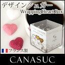【 正規販売店 】 CANASUC ( カナスック ) ラッピング ハート シュガー ボックス 180g / 全2種 Wrapping Heart Sugar …