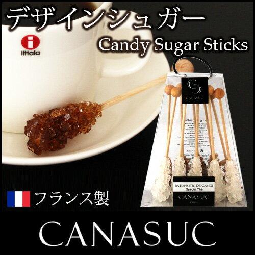【 正規販売店 】CANASUC ( カナスック ) キャンディー シュガー スティック / ティー 10本入り.