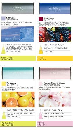 MillefioriカーエアフレッシュナーICON【CLASSIC】香り