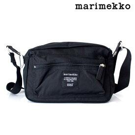 marimekko ( マリメッコ ) Roadie シリーズ 『 MY THINGS 』 ショルダーバッグ / ブラック 【 正規販売店 】【あす楽】.