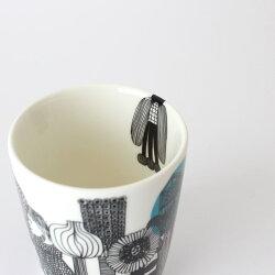 marimekkoマグカップWITHOUTHANDLE(取手なし)SIIRTOLAPUUTARHA(シイルトラプータルハ).