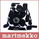 【正規販売店】【 送料無料 】 marimekko ( マリメッコ ) Pieni Unikko NIPPU ( ウニッコ リュック )/ ブラック×ホワイト ...