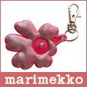 【 メール便 可 】 marimekko ( マリメッコ ) UNIKKO reflector ( リフレクター ) キーホルダー(反射式 / 両面反射)/ピンク.
