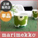 marimekko ( マリメッコ ) 【日本限定】UNIKKO ウニッコ ラテマグ < 単品 > / ホワイト×グリーン 【あす楽対応_近畿】【RCP】.
