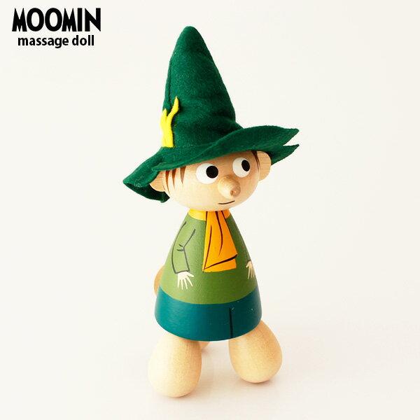 PUULELUT moomin ( ムーミン ) マッサージャー / スナフキン 木製 雑貨 置物 ツボ押し 健康 グッズ .
