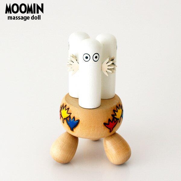 PUULELUT moomin ( ムーミン ) マッサージャー / ニョロニョロ 木製 雑貨 置物 ツボ押し 健康 グッズ.