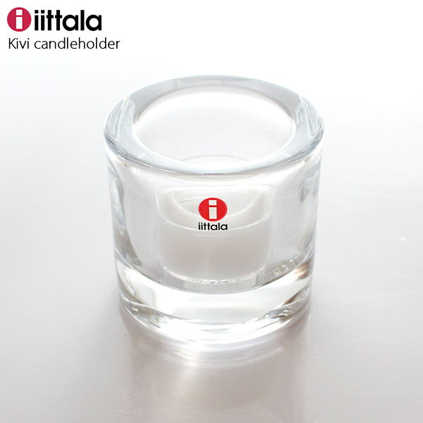 【 正規販売店 】 iittala ( イッタラ ) marimekko ( マリメッコ ) KIVI ( キビ ) キャンドル ホルダー / クリア 60ml .