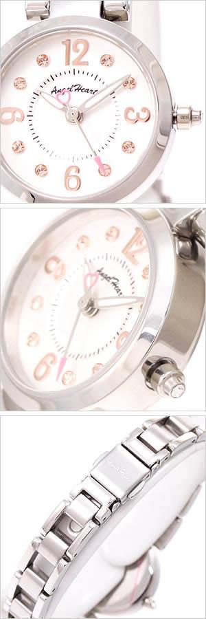 エンジェルハート腕時計AngelHeart時計AngelHeart腕時計エンジェルハート時計ラブタイムLoveTimeレディース/ホワイトLV23SV[正規品セレブ]送料無料【楽ギフ_包装】