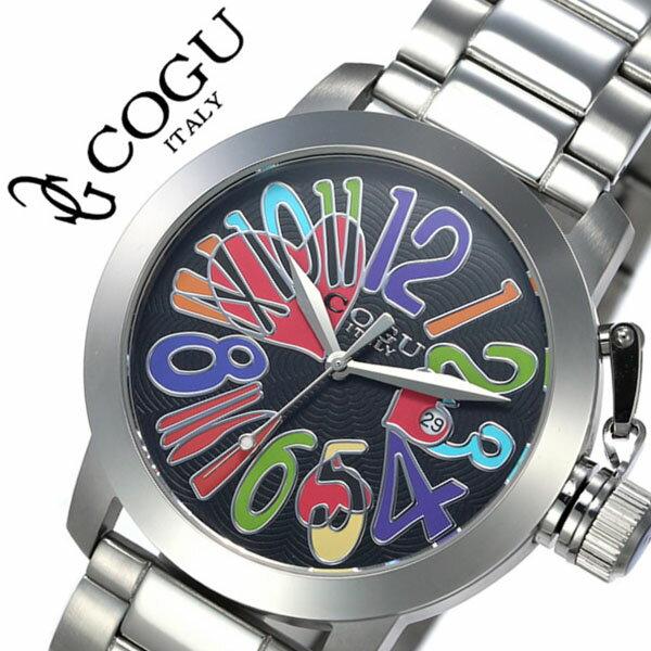 コグ 腕時計 COGU 時計 コグ 時計 COGU 腕時計 コグ腕時計 cogu時計 コグ時計 cogu腕時計 マルチカラー メンズ レディース 男女兼用 ブラック マルチカラー CHS-BCL 生活 防水 人気 ブランド 送料無料