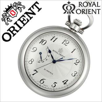 有皇家的东方自动卷怀表人分歧D机械式手卷功能的[ROYAL ORIENT]WE0041EG[怀表/国产/正规的物品/礼物/礼物/祝贺][入学/毕业/祝贺]