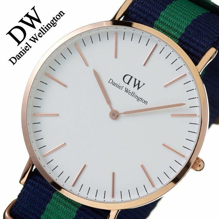 【5年保証対象】ダニエルウェリントン 腕時計 DanielWellington 時計 ダニエルウェリントン時計 Daniel Wellington 腕時計 クラシック ワーウィック ローズ CLASSIC 40mm メンズ レディース 0105DW 革ベルト シンプル 送料無料