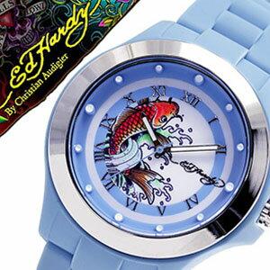 【おひとり様1点限り!!】エドハーディー腕時計 EdHardy時計 Ed Hardy 腕時計 エド ハーディー 時計 ミスト MIST レディース ブルー ホワイト EDHARDY-MT-BL アナログ ブランド プレゼント 祝い [ クリスマス プレゼント ギフト ]