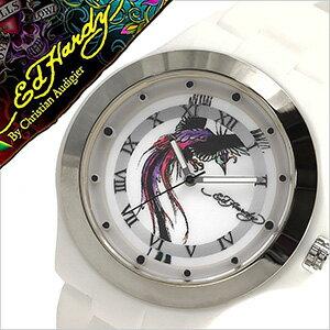エドハーディー 腕時計 EdHardy 時計 エド ハーディー 時計 Ed Hardy 腕時計 ミスト MIST レディース ブラック ホワイト EDHARDY-MT-WH アナログ ブランド プレゼント ギフト 祝い [ クリスマス ]