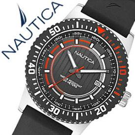 6f0134ef232854 【5年保証対象】ノーティカ腕時計 NAUTICA時計 NAUTICA 腕時計 ノーティカ 時計 デイト スポーツ アクティブ NST16 SPORT  ACTIVE メンズ ブラック オレンジ A12637G ...