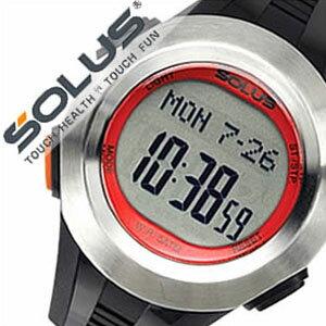【5年保証対象】ソーラス腕時計 SOLUS時計 SOLUS 腕時計 ソーラス 時計 プロ101 Pro 101 メンズ レディース レッド シルバー ブラック 01-101-02 正規品 スポーツウォッチ ダイエット エクササイズ ソーラスプロ101 多機能 心拍時計 ハートレートモニター 送料無料