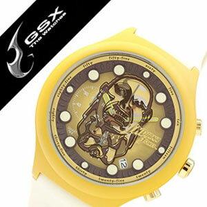 ジーエスエックス腕時計 GSX時計 GSX 腕時計 ジー エス エックス 時計 インディジョーンズ腕時計 INDIANAJONES時計 メンズ レディース ブラウン ゴールド チャチャポヤン戦士像 コラボモデル Chachapoya-idol 数量限定モデル 純国産 日本製 ゴールド