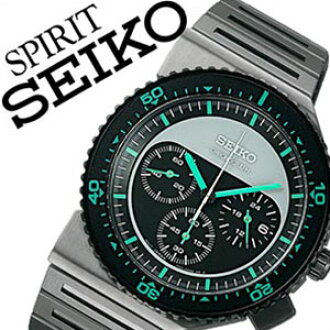 Giugiaro Seiko seikospiritjougiaro design watches watches SEIKO SPIRIT GIUGIARO DESIGN watch Seiko spirit Giugiaro Design watches mens / Green-Black SCED019 [chronograph brands limited waterproof] [10 x]