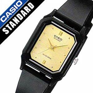 カシオ腕時計 CASIO時計 CASIO 腕時計 カシオ 時計 スタンダード ベーシック STANDARD BASIC ANALOGUE レディース ゴールド LQ-142E-9A アナログ 海外モデル シンプル ブラック 黒 金 3針 おしゃれ かわいい ブランド 生活 防水