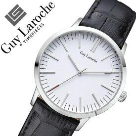 ギラロッシュ腕時計 Guy Laroche時計 Guy Laroche 腕時計 ギラロッシュ 時計 レディース ホワイト L2004-01 [アナログ TIMEPIECES レディースウォッチ ブラック シルバー 白 銀][ギフト バーゲン プレゼント ご褒美][おしゃれ 腕時計]
