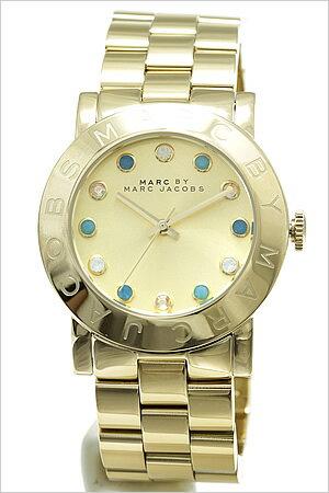 マークバイマークジェイコブスマークバイマークジェイコブス腕時計[MARCBYMARCJACOBS時計](MARCBYMARCJACOBS腕時計マークバイマークジェイコブス時計)エイミー(Amy)/レディース/メンズ/ゴールド/MBM3215[おしゃれ大人][送料無料]