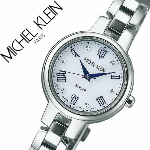 ミッシェルクラン 腕時計 MICHELKLEIN 時計 ミッシェル クラン 時計 AVCD025 ソーラー [ おしゃれ かわいい メタル ベルト プレゼント ギフト 人気 定番 防水 ][送料無料]