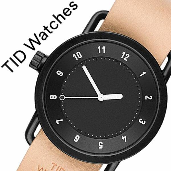 【5年保証対象】 ティッドウォッチズ ティッドウォッチ 腕時計 TIDWatches 時計 ティッド ウォッチ 時計 TID Watches 腕時計 TIDNo. 1 メンズ レディース TID01-BK-N 新作 ブランド 人気 革ベルト おしゃれ 防水 北欧 ベージュ ブラウン インスタ 通販 送料無料