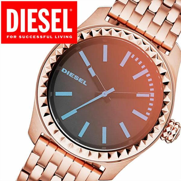 ディーゼル 腕時計[DIESEL時計]ディーゼル 時計[DIESEL 腕時計]ディーゼル時計[ディーゼル腕時計]クレイクレイ KRAY KRAY レディース ブラック DZ5451 [ブランド ステンレス ベルト ピンク ゴールド ローズ ポラライザー 偏光 バーゲン プレゼント ギフト]