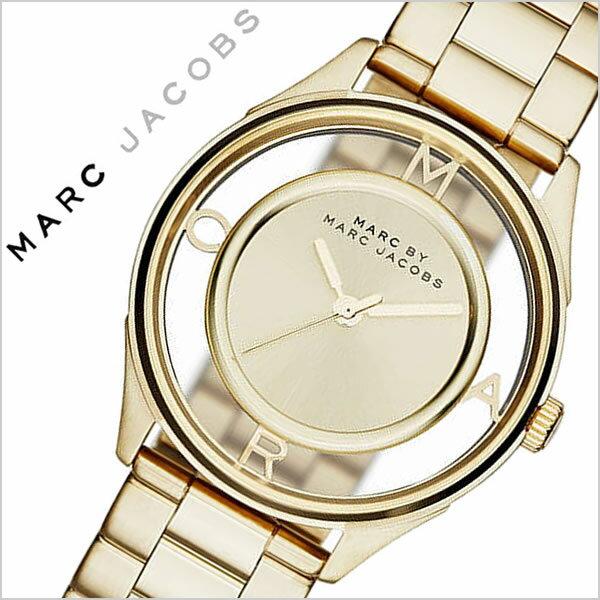 マークバイマークジェイコブス 腕時計[MARCJACOBS 時計]マーク バイ マーク ジェイコブス 時計[MARC BY MARC JACOBS 腕時計 マークジェイコブス]ティザー Tether レディース ゴールド MBM3413 [人気 ブランド 防水 メタル ベルト スケルトン][ 父の日 父の日ギフト ]