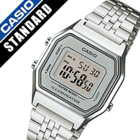 accb56cc9a カシオ腕時計 CASIO時計 CASIO 腕時計 カシオ 時計 スタンダード STANDARD レディース グレー LA-680WA-