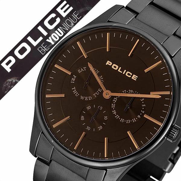 【5年保証対象】ポリス 腕時計 POLICE 時計 ポリス時計 POLICE腕時計 ポリス腕時計 POLICE時計 カーティシー COURTESY メンズ ブラック 14701JSB-02M 人気 新作 ブランド トレンド メタル ベルト コーテシー シンプル ブラック プレゼント ギフト 送料無料