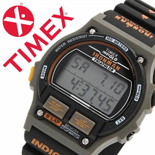 【5年保証対象】タイメックス 腕時計 TIMEX 時計 タイメックス 時計 TIMEX 腕時計 アイアンマン オリジナル エディション1986 Ironman Original Edition 1986 メンズ グレー T5H941-N 正規品 人気 ブランド ラバー ベルト 液晶 デジタル ファッションウォッチ ブラック
