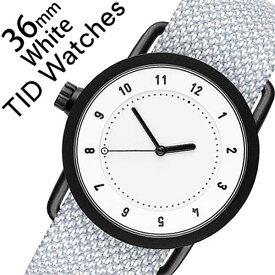 【5年保証対象】 ティッドウォッチズ ティッドウォッチ 腕時計 TIDWatches 時計 ティッド ウォッチ 時計 TID Watches 腕時計 クヴァドラ Kvadrat メンズ レディース ユニセックス TID01-WH36-MINERAL No.1 通販 北欧 シンプル 革 レザー バンド ホワイト 送料無料