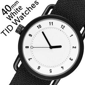 [当日出荷] ティッドウォッチズ ティッドウォッチ 腕時計 TIDWatches 時計 ティッド ウォッチ 時計 TID Watches 腕時計 クヴァドラ Kvadrat メンズ レディース TID01-WH40-COAL No.1 通販 新作 おしゃれ 北欧 シンプル 革 レザー バンド ホワイト 送料無料