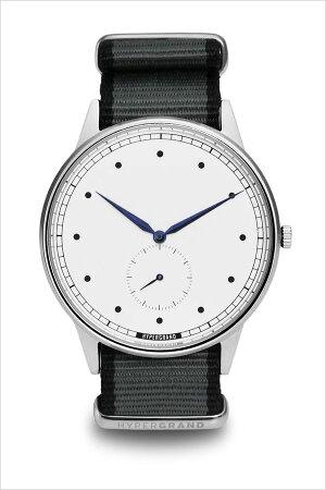 ハイパーグランド腕時計HYPERGRAND時計ハイパーグランド時計HYPERGRAND腕時計シグネチャーナトーSIGNATURENATOメンズレディースホワイトNWSGSWGREY[カジュアルファッションオシャレおしゃれシンガポール替えベルト時計][送料無料]