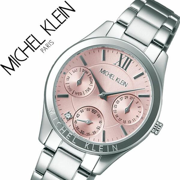 ミッシェルクラン 腕時計[MICHELKLEIN 時計]ミッシェル クラン 時計[MICHEL KLEIN 腕時計]ミッシェルクラン腕時計 ファム FEMME レディース ピンク AJCT005 [セイコー ブランド 大人 かわいい 高校生 大学生][バーゲン プレゼント ギフト 祝い][おしゃれ 腕時計]