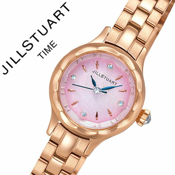 ジルスチュアートタイム 腕時計 [JILLSTUARTTIME 時計]ジルスチュアート タイム 時計[JILLSTUART TIME 腕時計] フラワー リングレディース ピンク NJAF003 [正規品 クール 人気 カットガラス 花 マザーオブパール かわいい][バーゲン プレゼント ギフト][おしゃれ 腕時計]