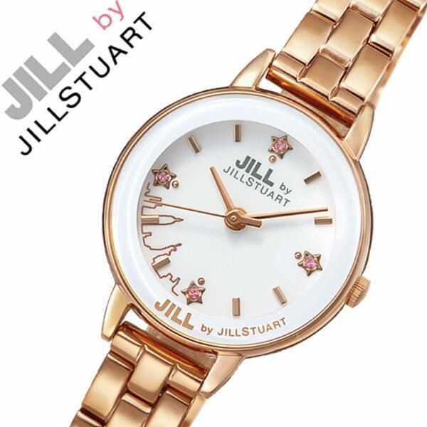 【5年保証対象】ジルバイジルスチュアート 腕時計 JILL BY JILL STUART 時計 ジル バイ ジルスチュアート 時計 JILLSTUART 腕時計 ジルスチュアート腕時計 ジルスチュアート時計 ニューヨーク・ニューヨークレディース ホワイト NJAK002 人気 かわいい 送料無料