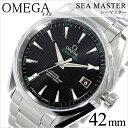 オメガ 腕時計[ OMEGA 時計 ]オメガ腕時計 オメガ時計 [シーマス]シーマスター アクアテラ Sea Master Aqua Terra メンズ/ブラッ...