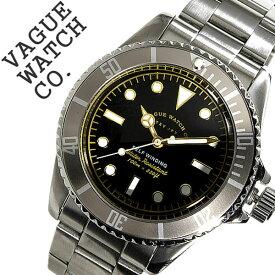 [当日出荷] ヴァーグウォッチ 腕時計 VAGUEWATCH Co. 時計 ヴァーグ ウォッチ 時計 VAGUE WATCH Co. 腕時計 グレーフェド GRY FAD メンズ ブラック GF-L-001 バードウォッチ バーグウォッチ 人気 ブランド アンティーク メタル ベルト ナイロン シルバー 送料無料