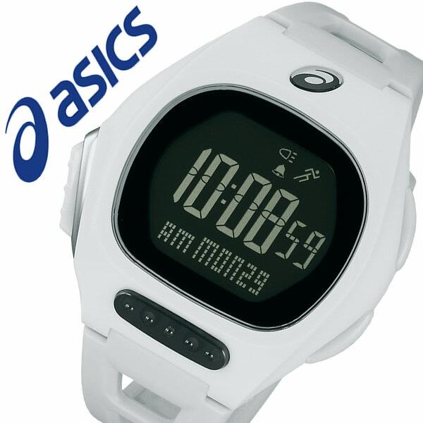 【5年保証対象】アシックス 腕時計 asics 時計 asics AR10 for Fun Runner 腕時計 アシックス ファンランナー 時計 メンズ レディース ブラック CQAR1002 ランニング マラソン ジム 部活 陸上 ランニングウォッチ スポーツ ダイエット 運動 デジタル ホワイト 軽量