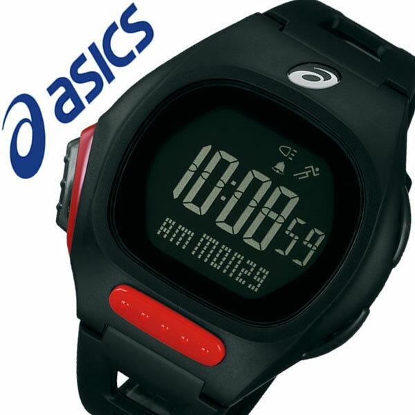 【5年保証対象】アシックス 腕時計 asics 時計 asics AR10 for Fun Runner 腕時計 アシックス ファンランナー 時計 メンズ レディース ブラック CQAR1004 ランニング マラソン ジム 部活 陸上 ランニングウォッチ スポーツ ダイエット 運動 デジタル 軽量