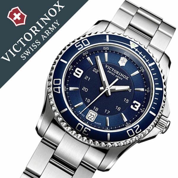 ビクトリノックス 腕時計 [VICTORINOX時計]( VICTORINOX SWISSARMY 腕時計 ビクトリノックス スイスアーミー 時計 ) マーベリック スモール 腕時計 ブルー VIC-241609 [正規品 ブランド 防水 ミリタリー シルバー][バーゲン プレゼント ギフト][おしゃれ 腕時計]