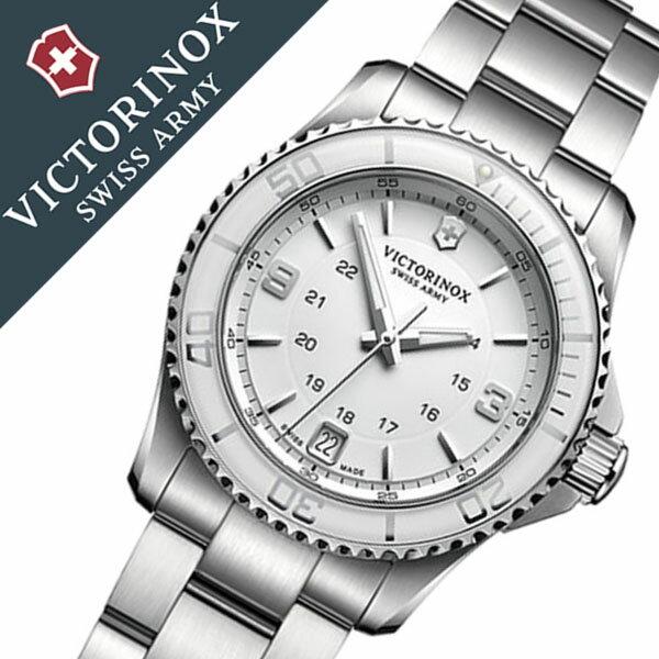 ビクトリノックス 腕時計 [VICTORINOX時計]( VICTORINOX SWISSARMY 腕時計 ビクトリノックス スイスアーミー 時計 ) マーベリック スモール 腕時計 ホワイト VIC-241699 [正規品 ブランド 防水 ミリタリー シルバー][バーゲン プレゼント ギフト][おしゃれ 腕時計]