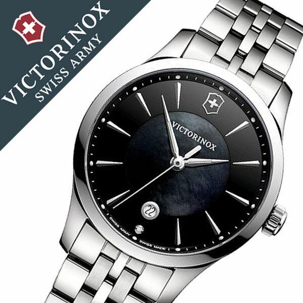 ビクトリノックス 腕時計 [VICTORINOX 時計]( VICTORINOX SWISSARMY 腕時計 ビクトリノックス スイスアーミー 時計 ) アライアンス スモール 腕時計 ブラック VIC-241751 [新作 正規品 ブランド 防水 ダイアモンド シルバー 白蝶貝][バーゲン プレゼント ギフト]