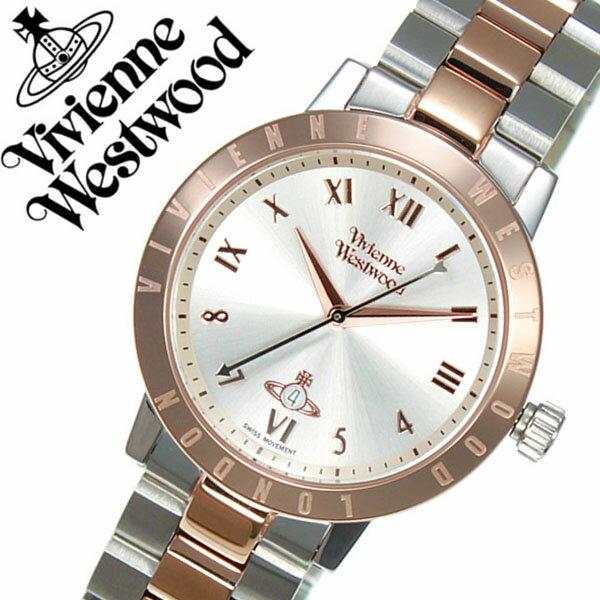ヴィヴィアンウェストウッド 腕時計 VivienneWestwood 時計 ヴィヴィアン ウェストウッド 時計 Vivienne Westwood 腕時計 ヴィヴィアンウエストウッド レディース アイボリー VV152RSSL メタル ベルト オーブ モチーフ シルバー ローズ ゴールド ピンクゴールド 送料無料