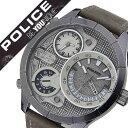 【5年保証対象】ポリス 腕時計[POLICE 時計]ポリス 時計[POLICE 腕時計] ブッシュマスター BUSHMASTER メンズ/シルバ…